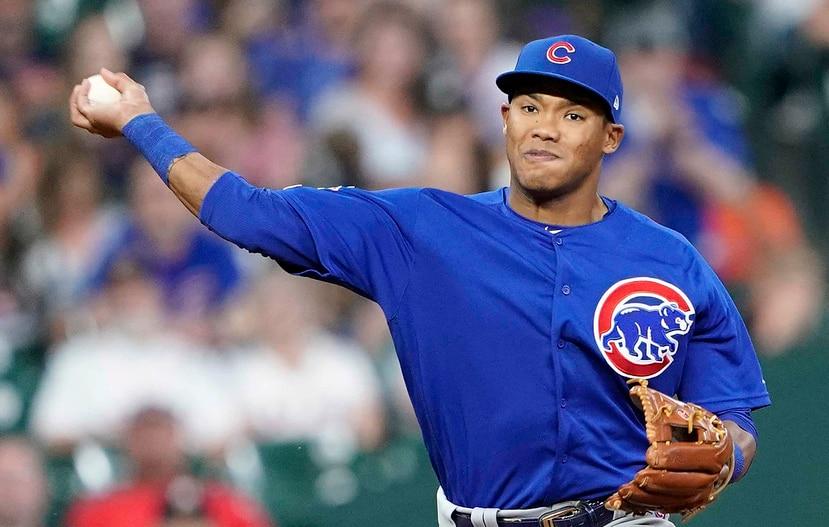 Addison Russell fue dejado libre  en diciembre por los Cubs de Chicago luego de que la organización decidiera no renovarle el contrato. (Archivo / AP)