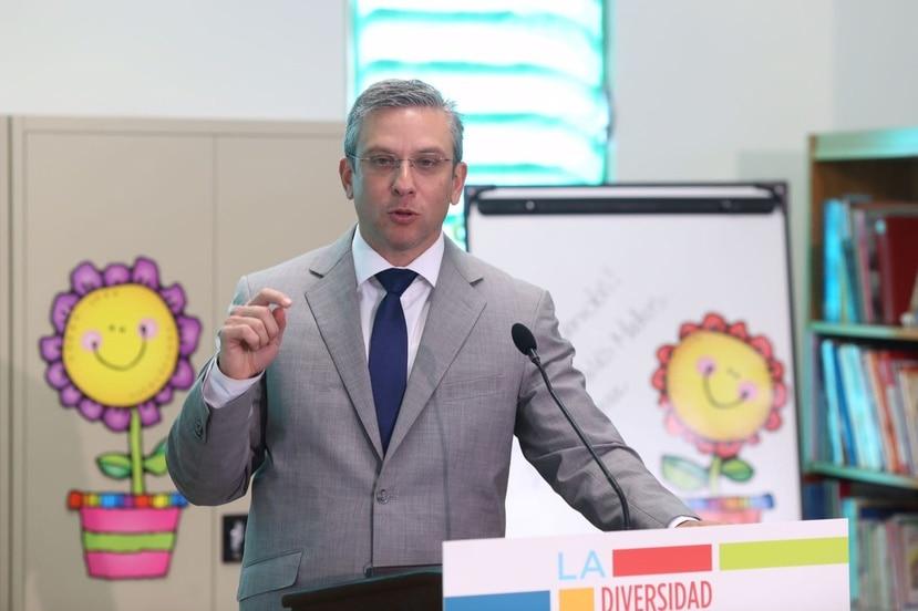 El exgobernador Alejandro García Padilla lamentó la derogación de la carta circular que establecía la enseñanza de equidad de género en todos los niveles en las escuelas públicas. (GFR Media)