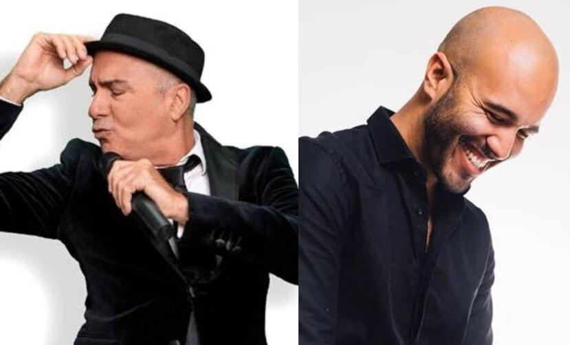 """Los cantantes y actores Alejandro Primero y Christian Laguna estarán acompañado del pianista Cuqui Rodríguez en """"Dos pa Dos""""."""