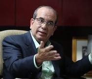 El candidato a comisionado residente en Washington, Aníbal Acevedo Vilá.