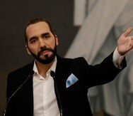 El presidente de El Salvador, Nayib Bukele. EFE/Rodrigo Sura/Archivo
