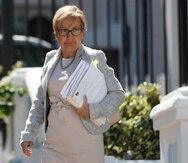 María Conte Miller, directora del Instituto de Ciencias Forenses.