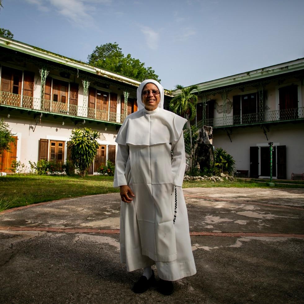 Sor Margarita Mangual Colón es la priora general de las Hermanas Dominicas de Nuestra Señora del Rosario de Fátima.