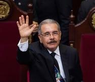"""""""Desde que iniciamos nuestro segundo periodo de gobierno no mostré ninguna intención de volver a la Presidencia"""", dijo Medina. (EFE)"""