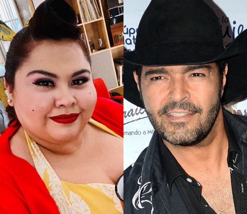 """Gisella Aboumrad  y Pablo Montero forman parte de la primera edición de """"La casa de los famosos""""."""