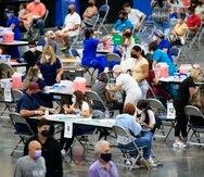 El gobierno de Puerto Rico realizó hace unas semanas una vacunación masiva en el Centro de Convenciones.