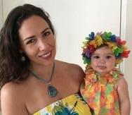 Alfonsina Molinari  celebra su cumpleaños junto a su hija Olivia Gabriela Castro Molinari. (Suministrada)