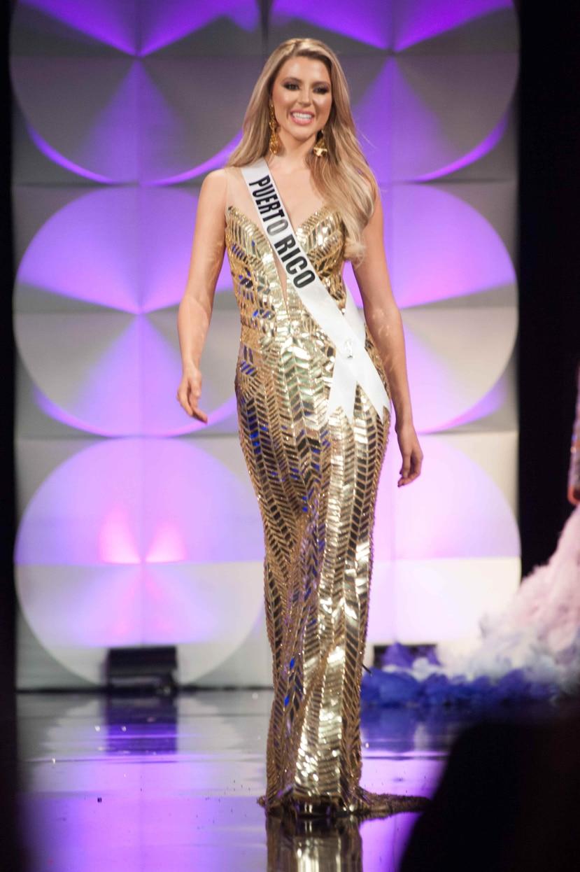 Madison participó en el West New York Fashion Week. (Archivo)