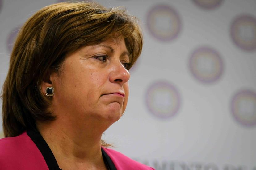Natalie Jaresko, directora ejecutiva de la Junta de Supervisión Fiscal.