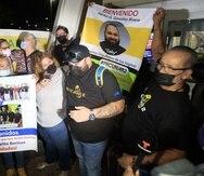 Familiares, amigos y funcionarios de la Universidad Interamericana sorprendieron con un recibimiento en el aeropuerto al equipo que viajó a Cabo Cañaveral para presenciar el despegue de la nave que lleva el satélite Puerto Rico CubeSat NanoRocks2.