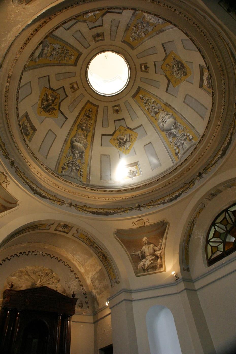 Hasta el momento, se desconoce cuál será la nueva sede del Centro de Estudios Avanzados. En la foto, una cúpula en el interior de la estructura.