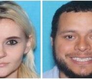 Jessica Kotwica (izq.) y Anthony Aponte (der.) fueron detenidos en Ponce. (Fotomontaje / Imágenes cortesía del Servicio de Alguaciles)