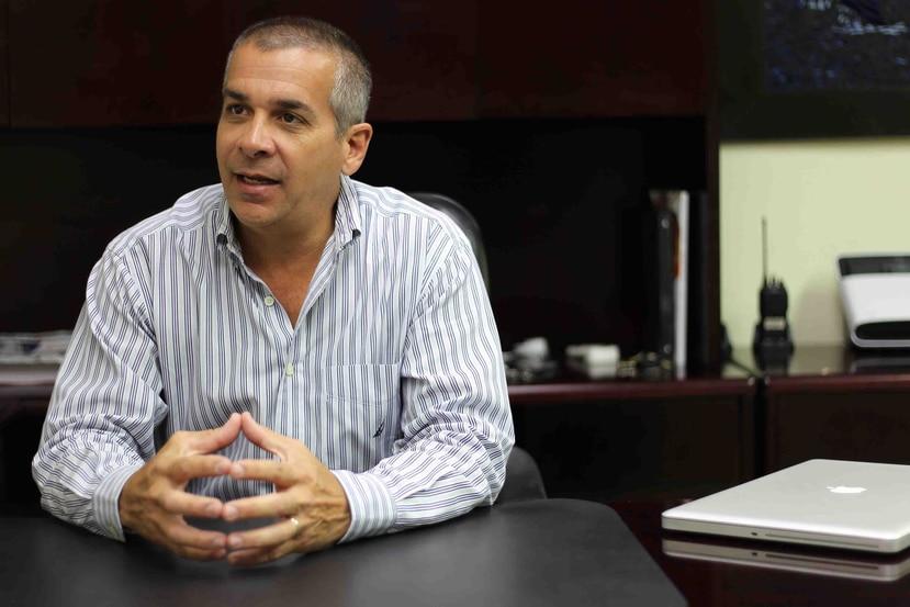 Julio Pentón, vicepresidente y gerente general de Max Chemical (Crossco).