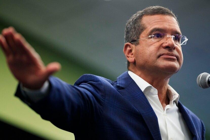 El gobernador de Puerto Rico, Pedro Pierluisi Urrutia.