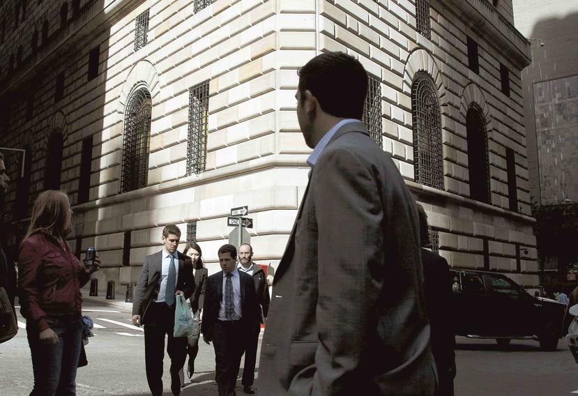 La Fed neoyorquina ofreció como garantía bonos del Tesoro estadounidense y titulaciones hipotecarias. (AP)