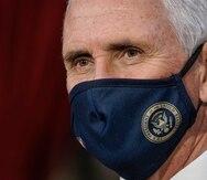 """El vicepresidente Mike Pence le envía mensaje a manifestantes: """"No han ganado"""""""
