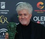 El director Pedro Almodóvar durante la pasada edición de los Premios Goya. (AP Photo/Manu Fernández)