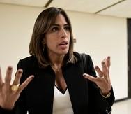 En la foto, la Procuradora de las Mujeres, Lersy G. Boria Vizcarrondo.