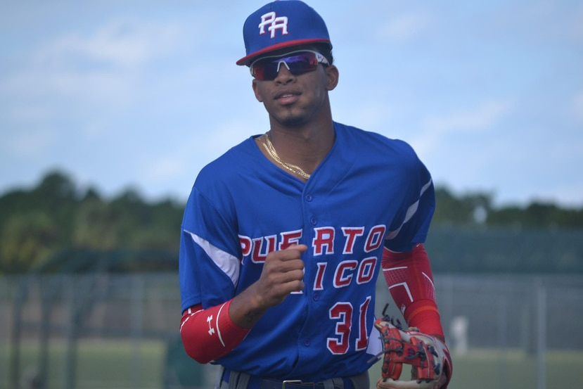 Delvin Pérez es uno de los cotizados prospectos en la novena puertorriqueña que competirá en Panamá. (Suministrada / FBPR)