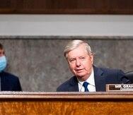 Lindsey Graham, presidente del Comité de lo Jurídico del Senado. (AP)