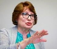 Gloria Baquero, presidenta de NUC, sostuvo que su prioridad es  ofrecer programas educativos para los cuales hay demanda de  empleo.