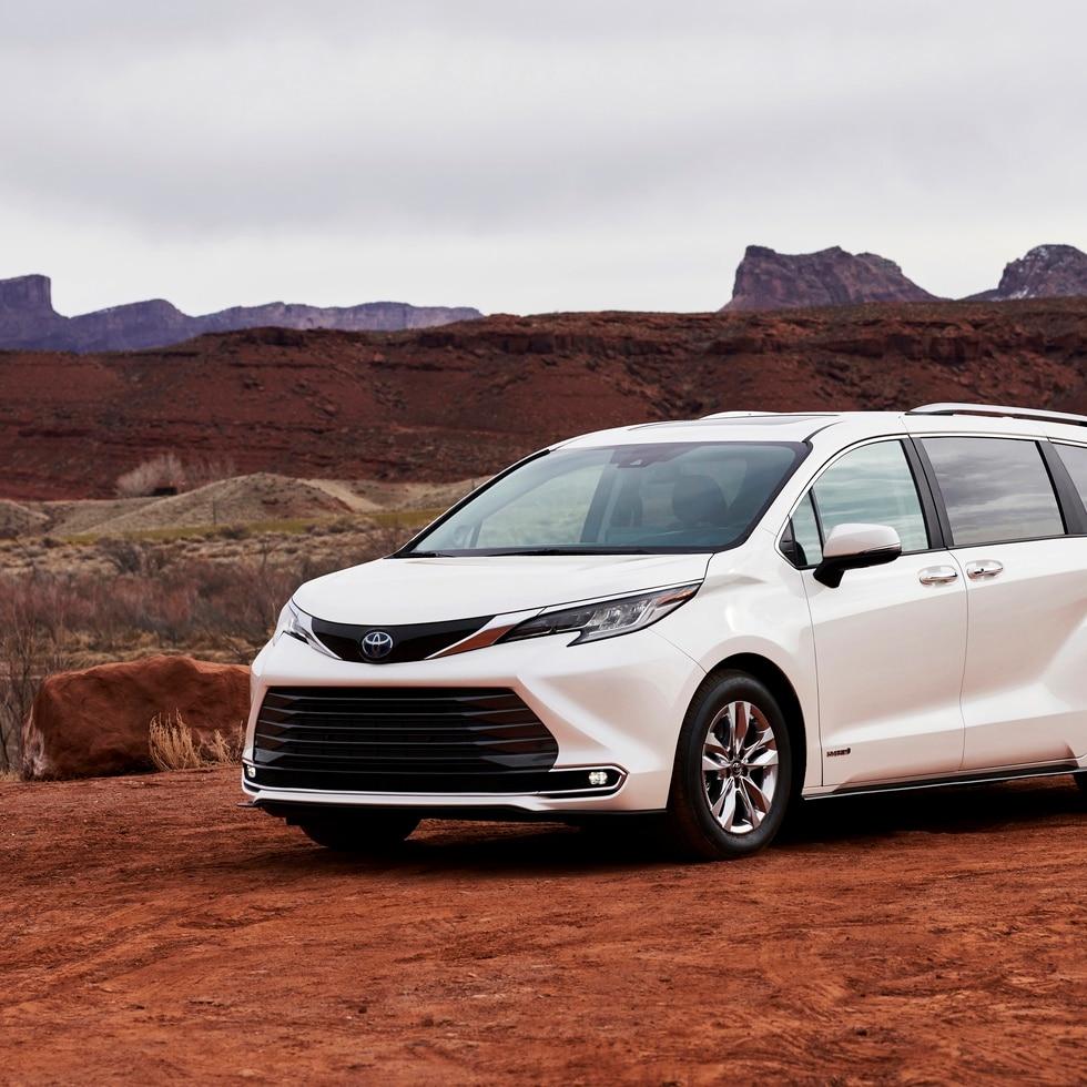 El modelo Toyota Sienna está disponible en Puerto Rico con un precio inicial sugerido por el fabricante de $41,995.