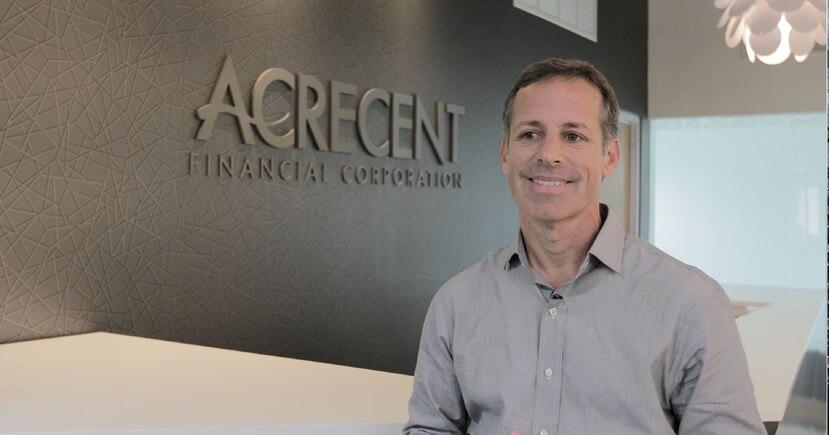 James Connor, de Acrecent Financial, se graduado en 2010 del programa para empresas en búsqueda de expansión, Guayacán Venture Accelerator. (Suministrada)