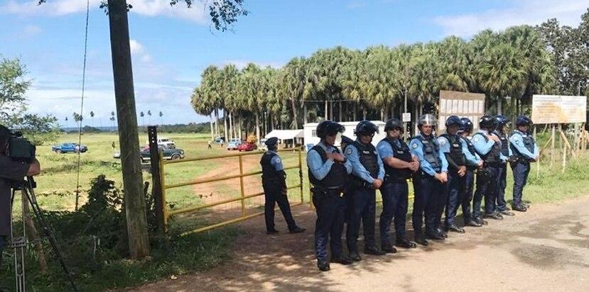 El pasado lunes la Policía arrestó a cinco personas durante una manifestación. (Suministrada / Roberto Lebrón)