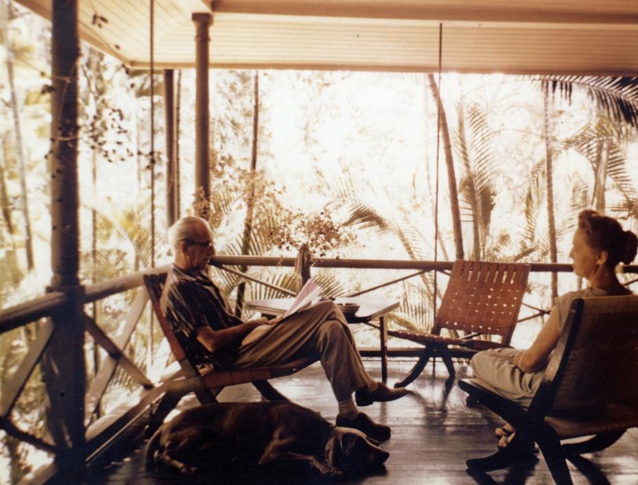El arquitecto Henry Klumb llegó a Puerto Rico en el 1944.