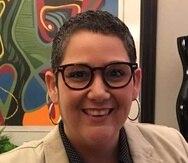 Liza Gallardo Martín, directora de Amnistía Internacional en Puerto Rico