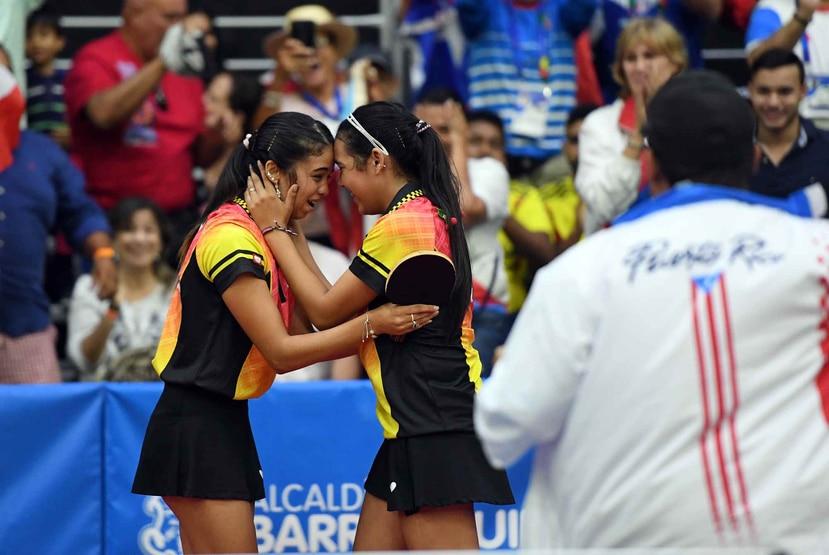 Melanie y Adriana Díaz son parte del Equipo Nacional femenino. (Archivo / GFR Media)
