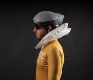 Prototipo del airbag que desarrolla la start-up.