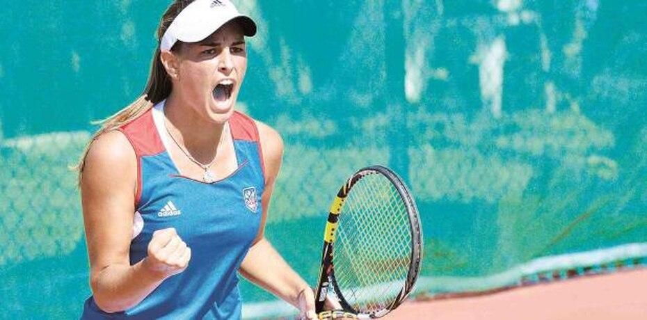 Mónica Puig volvió a ganar oro en los Juegos Centroamericanos y del Caribe de Veracruz 2014.