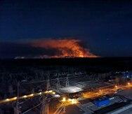 Estallan tres nuevos incendios cerca de Chernóbil