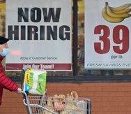 El crecimiento del empleo en Estados Unidos disminuye marcadamente