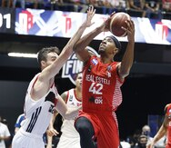 David Rosario y el Real Estelí caen en la final Liga de Campeones de FIBA Américas contra el Flamengo
