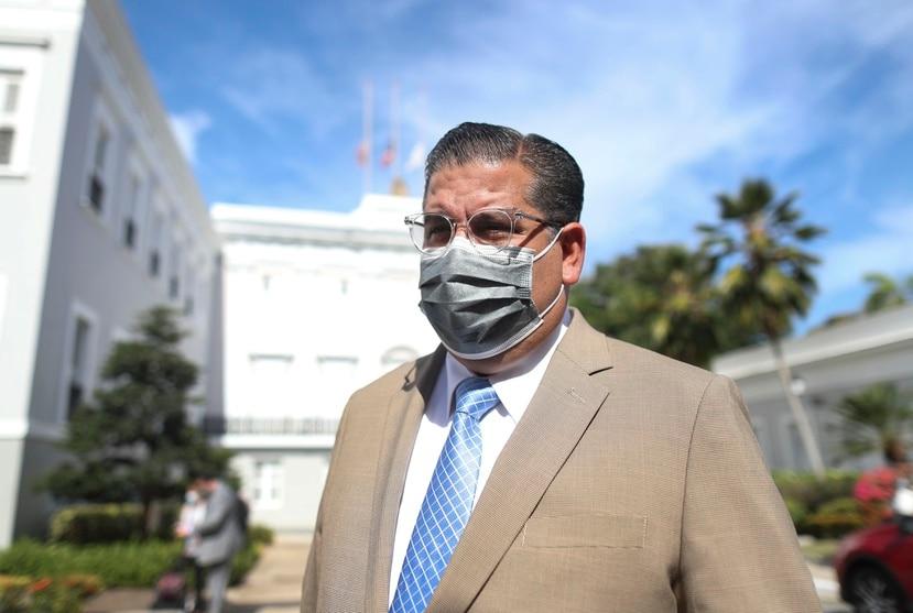 "Rafael ""Tatito"" Hernández, presidente de la Cámara de Representantes."