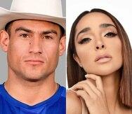 """Kelvin Noé Rentería y Manelyk González son participantes de """"La casa de los famosos"""" 2021."""