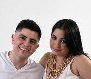 El reguetonero el Joey y Andrea de Castro en una imagen del 2014.