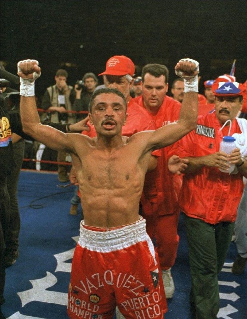Wilfredo Vázquez ganó siete peleas de título mundial en la casa de su rival. (GFR Media)