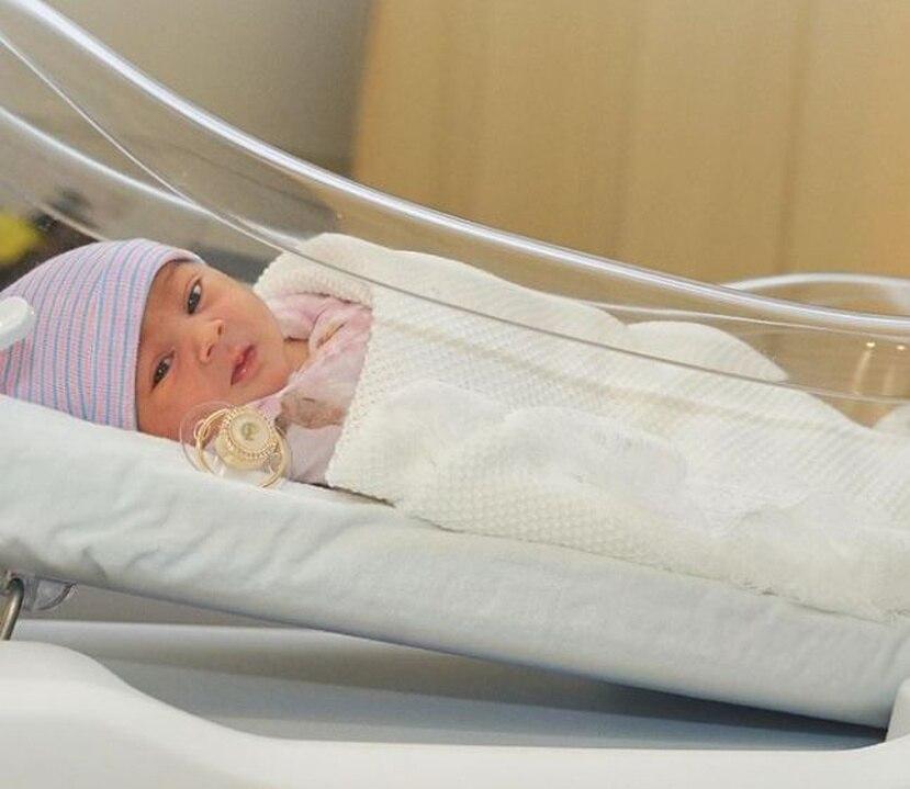 Vida Isabelle nació el pasado sábado en Miami, Florida.