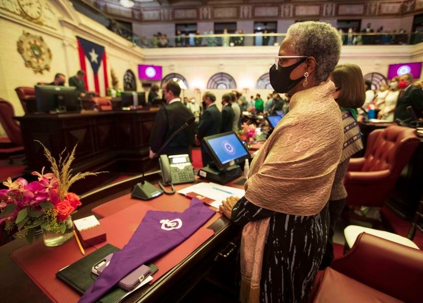 La senadora Ana Irma Rivera Lassén.