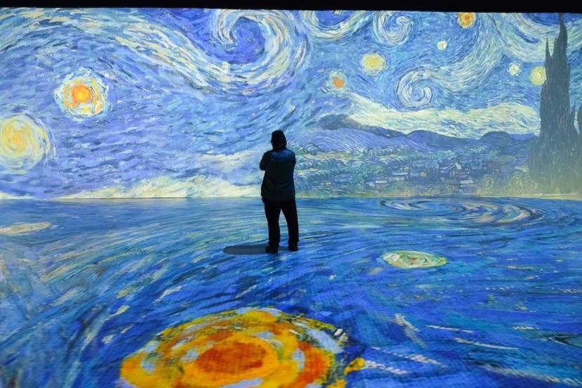 """""""Beyond Van Gogh: The Immersive Experience"""", es una experiencia multimedia, rica y única, que utiliza tecnología de proyección de vanguardia."""