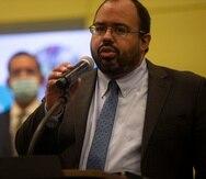El secretario interino de Educación, Eliezer Ramos.