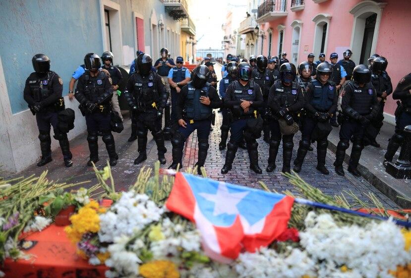 El pasado gobernador Ricardo Rosselló renunció el año pasado luego de varias manifestaciones en su contra. (GFR Media)