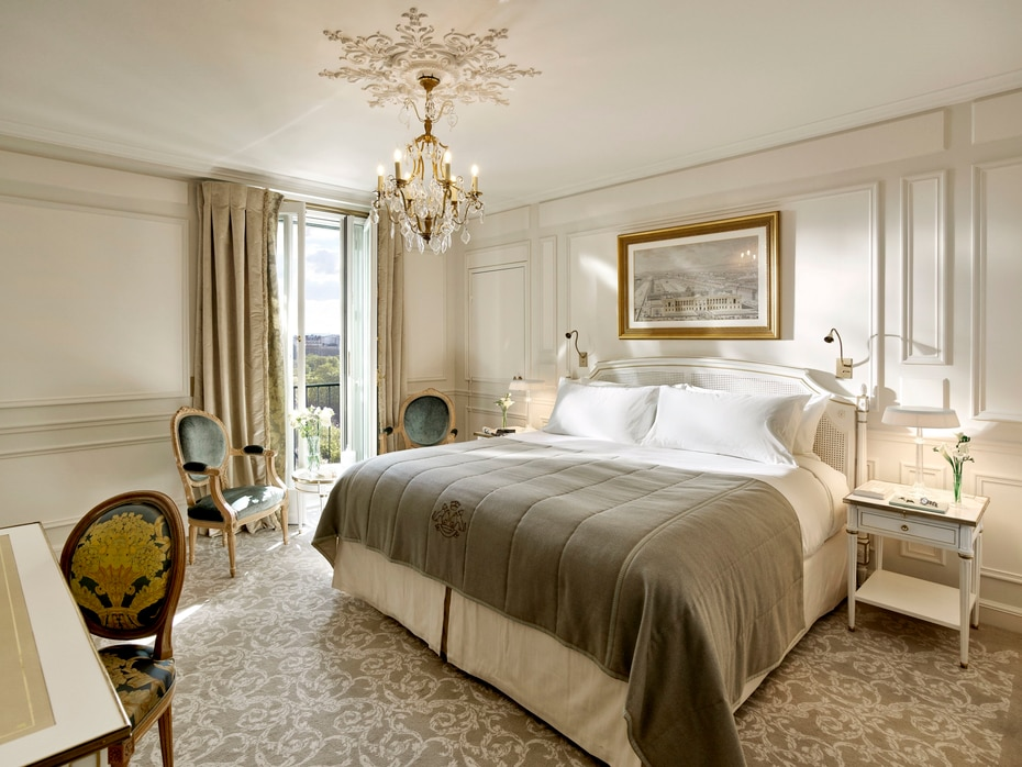 El hotel-palacio Le Maurice en Francia está situado en el corazón del París histórico y es conocido por ser un destino habitual de la aristocracia.