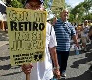 Marín sostuvo que el 45% de la economía del País lo generan los pensionados. (Archivo / GFR Media)