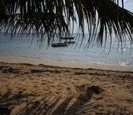 Playa Azul en Luquillo.