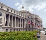 El Capitolio de Puerto Rico.