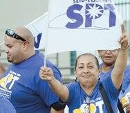 Para los comicios de 2012,  el SPT  registró un primer comité y apoyó a Carmen Yulín Cruz, del Partido Popular Democrático (PPD). (Archivo)